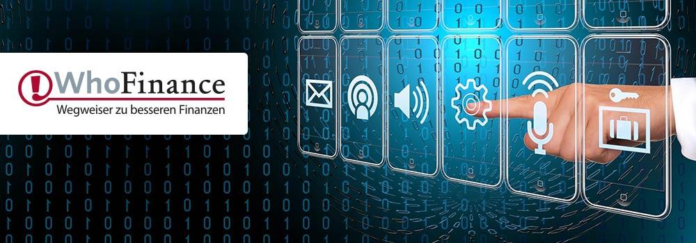 Digitalisierung mit WhoFinance