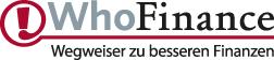 WhoFinance - Deutschlands führendes Bewertungsportal für Finanzberater