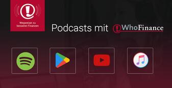 Auf WhoFinance finden Sie jetzt auch Podcasts