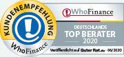 Die Top Berater Deutschlands 2020 aus Kundensicht