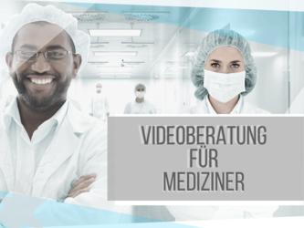 Bild des Angebots Videoberatung für Ärztinnen, Ärzte und MedizinstudentInnen