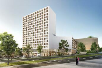 Bild des Angebots R.EVO: Landmark Building in München direkt am U-/S-Bahn Kreuz Neuperlach Süd