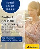Bild des Angebots Postbank Anschlussfinanzierung