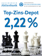Bild des Angebots Top-Zins-Depot 2,22%