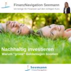 Bild des Angebots Nachhaltig investieren, dabei etwas Gutes tun und langfristig schöne Renditen erzielen