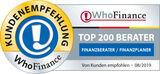Baufinanzierung Auszeichnung TOP-Berater