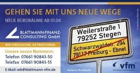 Logo der Blattmann-Finanz-Consulting GmbH von  Werner Blattmann