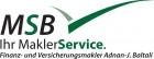 Logo der MSB – Ihr MaklerService / Finanz- und Versicherungsmakler von  Adnan - Johannes Baltali