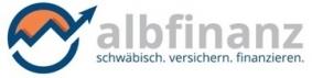 Logo der albfinanz GmbH von  Paul-Jakob Sendler